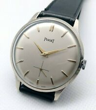 Vintage Piaget Silvered Dial