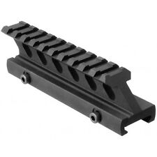 Tactical Tall Height Aluminum Riser Scope Mount Rail For Weaver Picatinny Rail