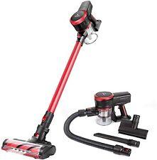 MOOSOO K17 Cordless Vacuum Cleaner Upgrade 23Kpa Strong Suction  Stick Vacuum US