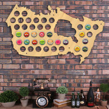Canada Beer Cap Map Beer Bottle Cap Wall Display Holder Man Cave Beer Lover Gift