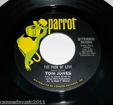 Tom Jones: The Pain of Love / I've Got Your Number  [New and unplayed]
