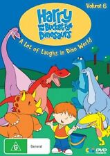 B4 BRAND NEW SEALED Harry And His Bucket Full Of Dinosaurs : Vol 6 (DVD, 2008)