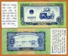 Vietnam, 2 Dong, 1958, Usa propaganda Ctrft, P-72x, code 4541, aUnc > Rare