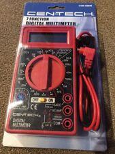 7 Function Digital Multimeter Lcd Display Ac/dc Electrical Tester Cen-Tech (SC)