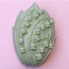 Candle MoldSoap Mold Soap Mould Silicone Mold Resin Mold Lily of Valley