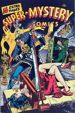 Super Mystery Comics Vol.6 #3  Photocopy Comic Book, Uno, Mr. Risk, Magno