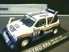 MG Austin Metro 6R4 Gr.B Rallye RAC GB 1986 #15 McRae Novafone IXO Altaya 1:43