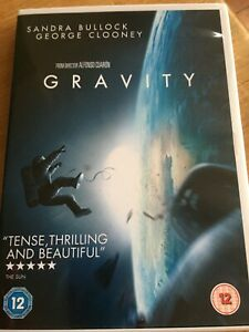 "Gravity (DVD, 2014) ""Tense, Thrilling and Beautiful"""