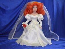 Disney Ariel Bride Porcelain Doll - 41 cm -