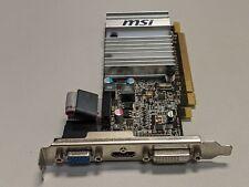 MSI ATI Radeon HD 5450 R5450-MD1GD3H/LP 1GB DDR3 PCIe Video Card DVI/VGA/HDMI