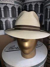 Stetson Pasadena Men's Straw Hat Size 7 1/2