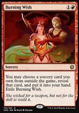 *MRM* ENG Souhait brûlant - Burning wish MTG Conspiracy Crown