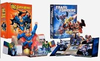 Pop Up Book Lot Matthew Reinhart Robert Sabuda Transformers and DC Hero's 1st Ed