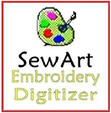 Sew Art SewArt Software - Embroidery Software + FREE GIFT ⭐ INSTANT DELIVREY⭐
