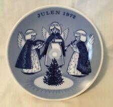1972 Julen Porsgrund Christmas Plate Norway