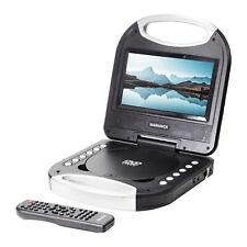 Magnavox MTFT 750-BK portátil 7 pulgadas reproductor de DVD/Cd Con Control Remoto en Negro