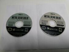 GAMECUBE METAL GEAR SOLID THE TWIN SNAKES (ORIGINAL USED) NO BOX