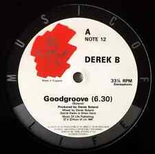 "DEREK B - Good Groove (12"") (G/NM)"