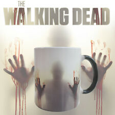 The Walking Dead Zombies Heat Sensitive Ceramic Tea Coffee Mug Cup Novelty Gifts
