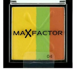 ** NEW = MAX FACTOR - MAX EFFECT - TRIO EYE SHADOWS - 04 QUEEN BEE - RRP £6.99 *