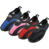 New Youth Boys Girls Slip On Water Shoes/Aqua Socks/Pool Beach, Sizes: 4-7