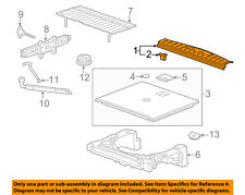 GM OEM Interior-Rear-Sill Trim 20987193