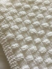 Knitting Pattern- Quick and Easy Basket Weave Baby Blanket