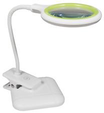 Lupenleuchte 36 LEDs Tisch- und Klemmleuchte Arbeitslampe dimmbar 3 Dioptrien