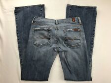 7 FOR ALL MANKIND CLASSIC FLARE LEG JEANS 26 X 31