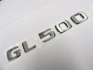 OEM 2008-2015 Mercedes Benz GL 500 GL500 Rear Trunk Lid Chrome Emblem Sign Logo
