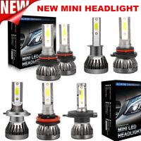 Pair Mini H1 H4 H7 H11 110W 20000LM Car CREE LED Headlight Bulbs Kit Xenon White