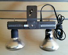 Smith-Victor L20 Two Lamp Barlight L-20 -  Light Bar Tri-Pod or Handheld Vintage
