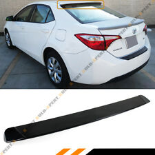 FOR 2014-2019 TOYOTA COROLLA JDM GLOSSY BLK REAR WINDOW ROOF SPOILER VISOR WING