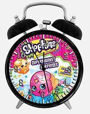 "Shopkins Alarm Desk Clock 3.75"" Home or Office Decor E417 Nice For Gift"