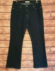 PAPAYA Size 14 Jeans Indigo Blue Stretch Denim 29L Women's Ladies VGC