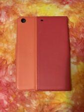 Classic Tab Cover With Stand For Ipad Mini 4,3,2, And Ipad Mini In Orange + Pink