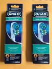 2 PACK - 6PCS= 12.95 $ - ORAL-B DUAL CLEAN TOOTHBRUSH REPLACEMENT HEADS