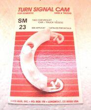 1963 TURN SIGNAL SWITCH CAM NOVA IMPALA CHEVY BEL AIR