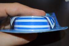 Stripes tripla striscia adesivo nastro blu tuning moto auto caravan camper