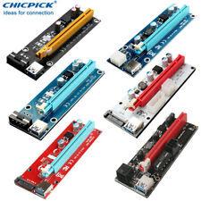USB 3.0 PCIE Express 1x to 16x Riser Card Extension Cable For BTC ETH Mining
