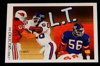 Vintage Football Card, NFL, UPPER DECK,1991, NY GIANTS, Lawrence Taylor (LT),#87