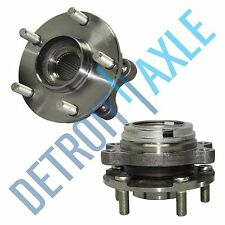(2) New Front Driver & Passenger Wheel Hub & Bearing Assembly fits Nissan Altima