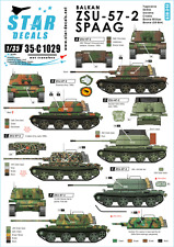 Star Decals 35-C1029, Decal - Balkan ZSU-57-2 SPAAG, 1:35