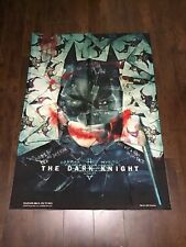 DC Batman The Joker Quote 2008 Canvas Wall Art  Size 44 Inches by 31 inches