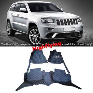 For Jeep Grand Cherokee WK2 2014-2020 RHD Custom Car Interior Floor Mats Pad