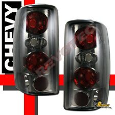 2000-2006 Chevy Suburban Tahoe GMC Yukon XL Denali Smoke Tail Lights 1 Pair