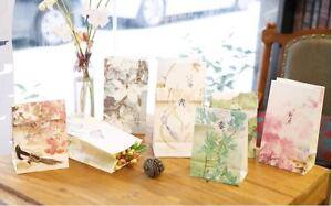 Paper Carrier Present Gift Bags Chinese Stickers Christmas Wedding Birthday x4