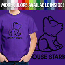 Wolf House Stark of Winterfell Toddler Kid Boy Youth Tee T-Shirt Game of Thrones