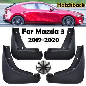 Mudguards For Mazda 3 Mazda3 Hatch 2019-2020 Front Rear Mud Flaps Splash Guards