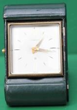 TIFFANY & CO 56 HOUR TRAVELLING ALARM CLOCK DARK GREEN